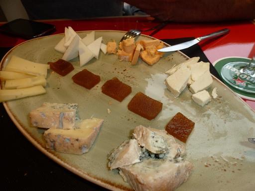 Plateau de fromages asturiens