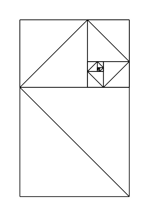 Pliage fractal 01 en Origami