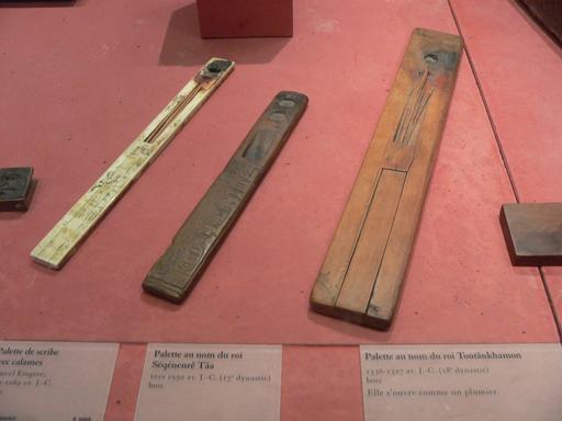Plumiers de scribes égyptiens