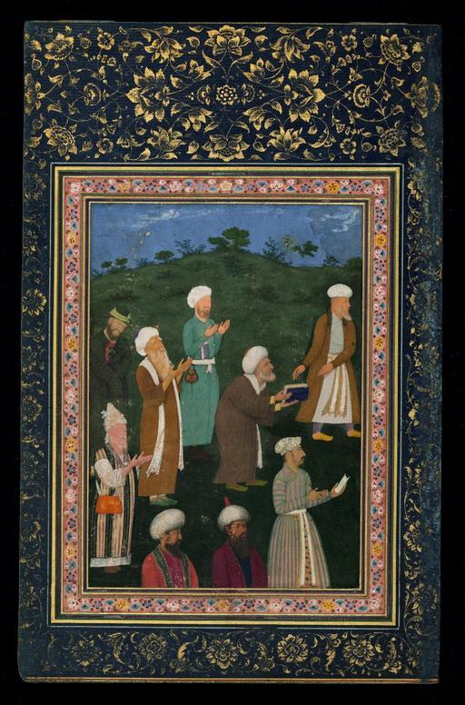 Poète persan en 1615