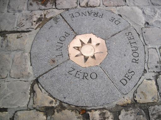 Point Zéro des routes de France