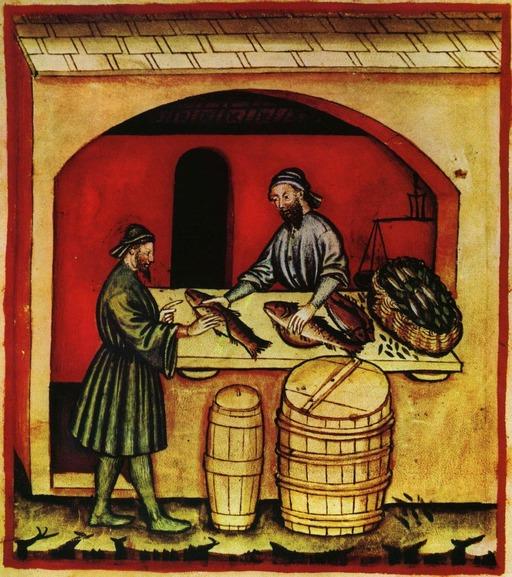 Poissonnerie médiévale