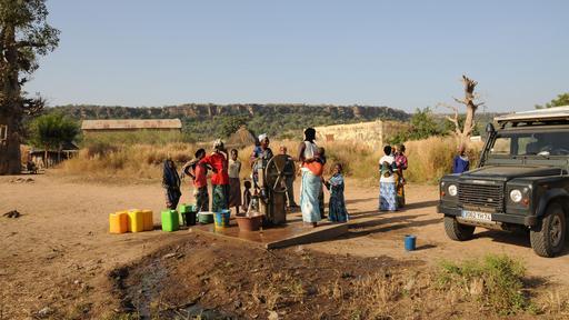 Pompe des chemins de fer de Oualia au Mali