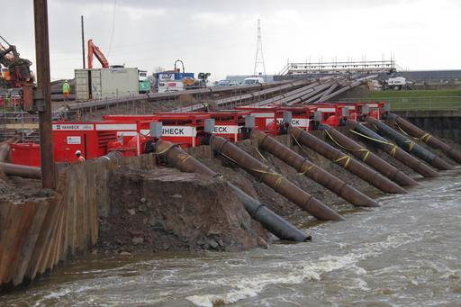 Pompes et inondations