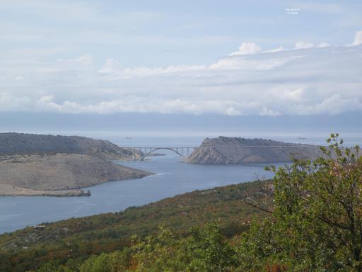 Pont de Krk en Croatie
