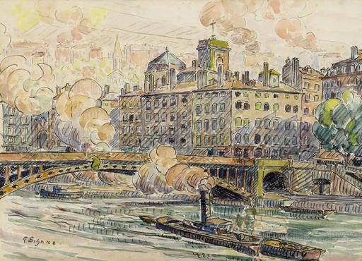 Pont de la Feuillée à Lyon