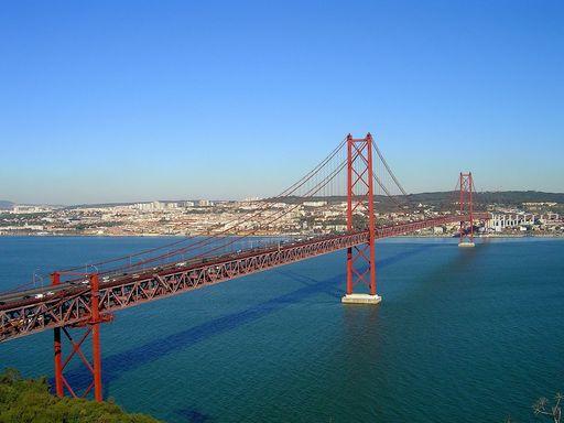 Pont du 25 avril - Lisbonne