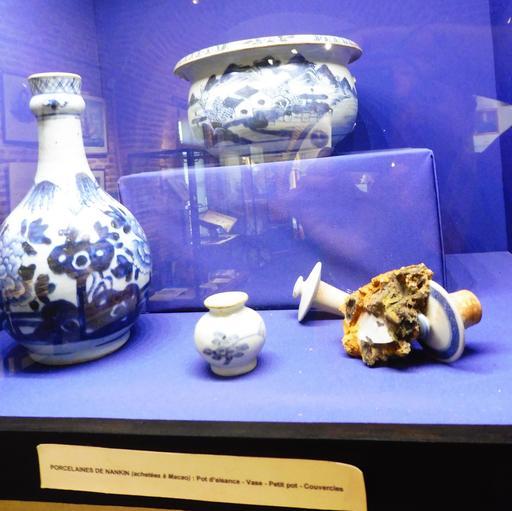 Porcelaine chinoise en provenance des recherches archéologiques à Vanikoro