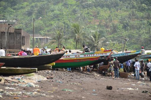 Port de Limbé au Cameroun