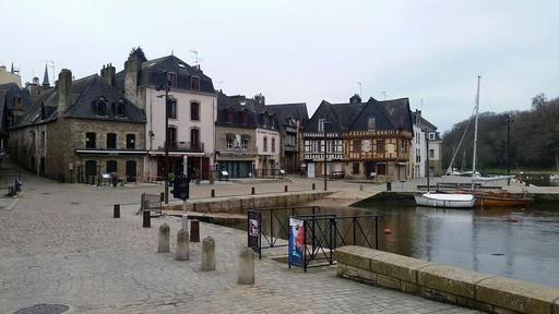 Port Saint-Goustan dans le Morbihan