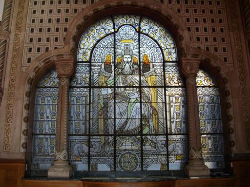 Portail de Charlemagne à la gare de Metz