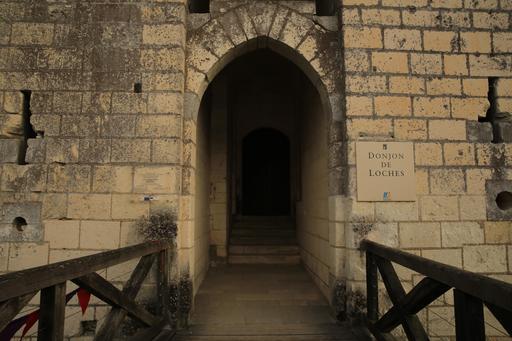 Porte d'entrée du donjon de Loches