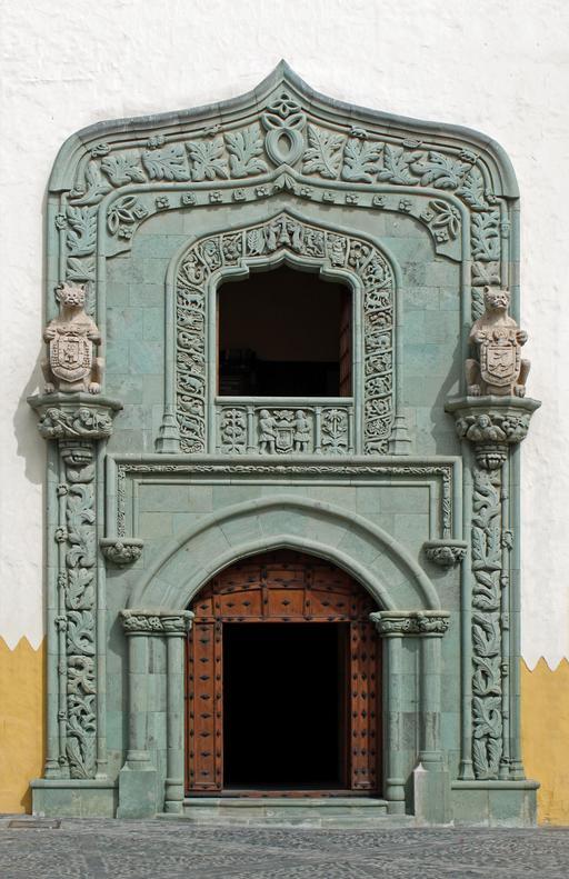 Porte de la Casa de Colón à Las Palmas