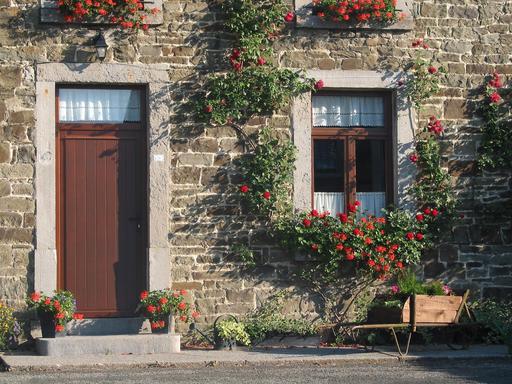 Porte et fenêtre à imposte