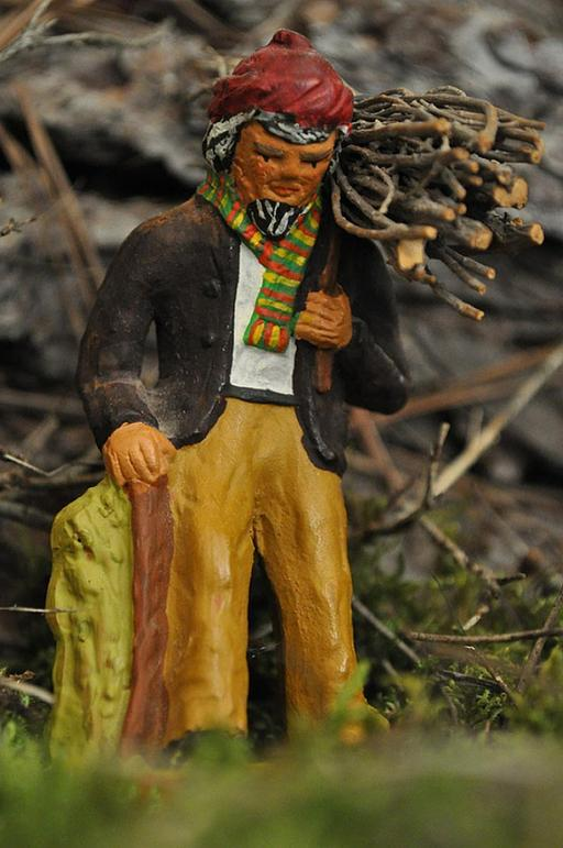 Porteur de fagot de bois