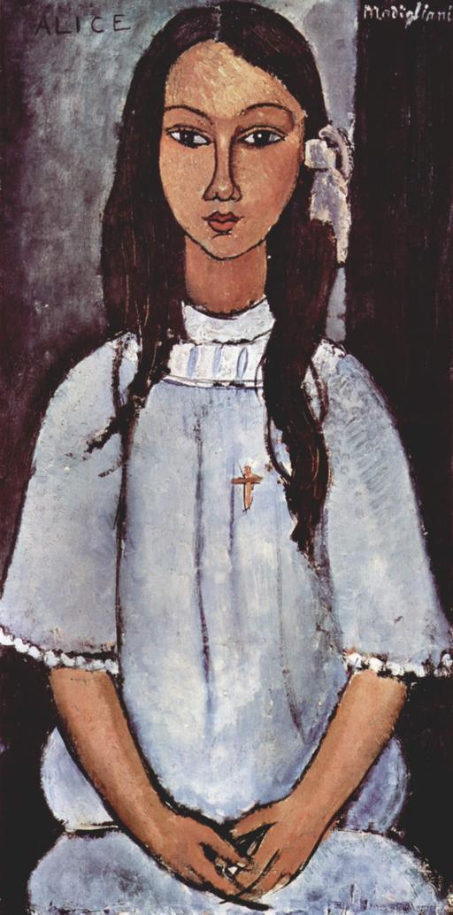 Portrait d'Alice