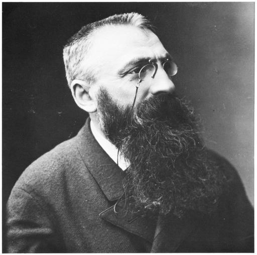 Portrait d'Auguste Rodin en 1893 par Nadar