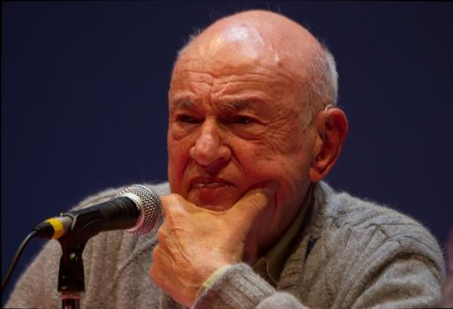 Portrait d'Edgar Morin en 2008