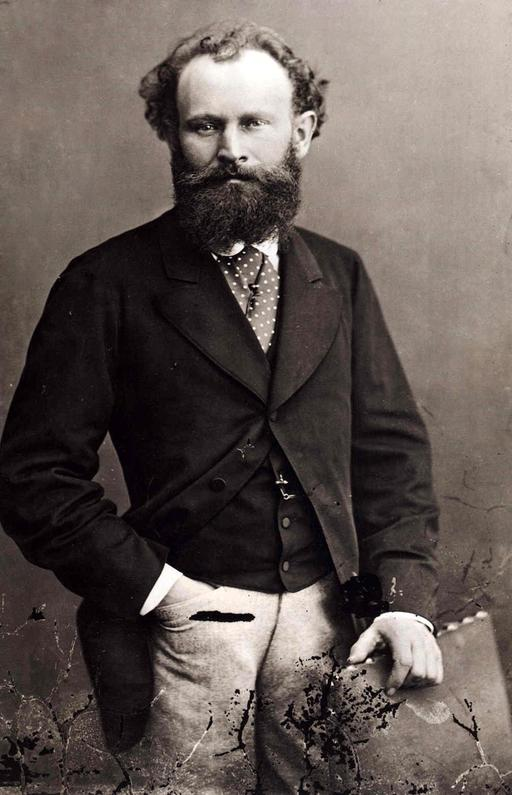 Portrait d'Édouard Manet par Nadar