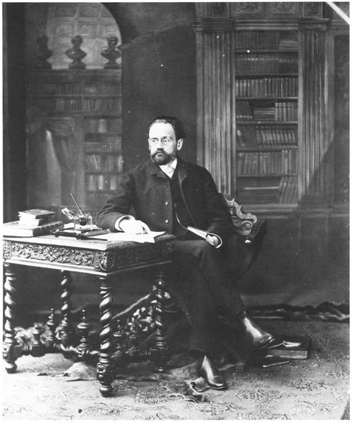 Portrait d'Émile Zola par Nadar