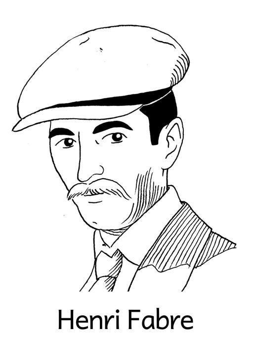 Portrait d'Henri Fabre