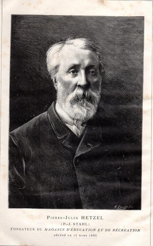 Portrait d'Hetzel en 1886