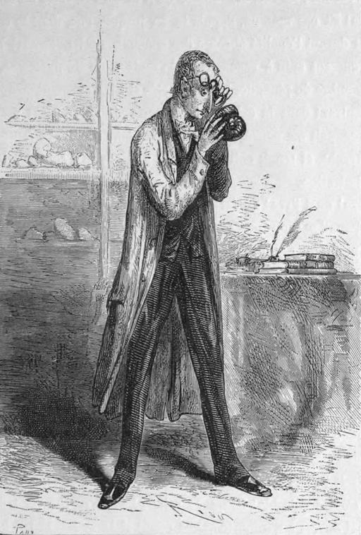 Portrait d'un minéralogiste