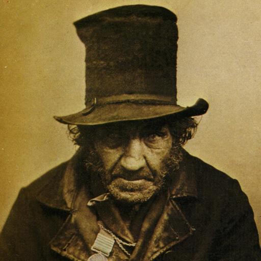 Portrait d'un vétéran en 1850