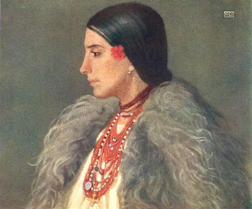 Portrait d'une roumaine de Desze