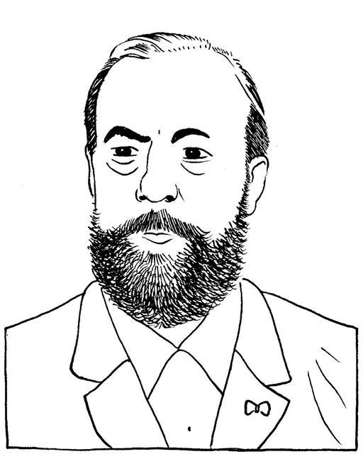 Portrait de Beau de Rochas