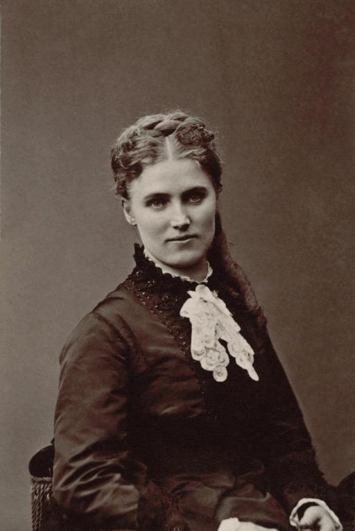 Portrait de Christine Nilsson par Nadar en 1870