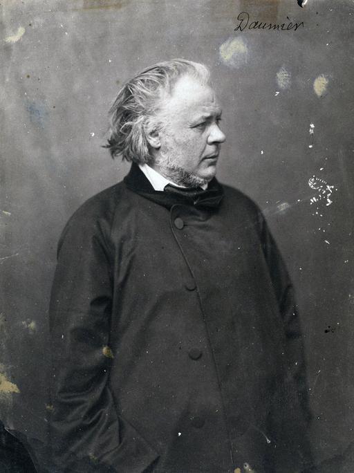 Portrait de Daumier par Nadar