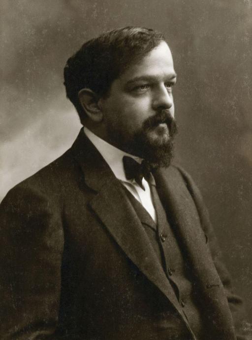 Portrait de Debussy par Nadar