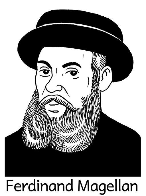 Portrait de Ferdinand Magellan