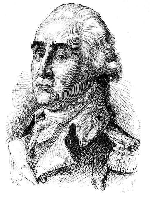 Portrait de Georges Washington