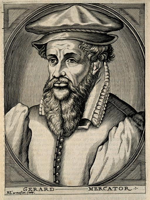 Portrait de Gerard Mercator