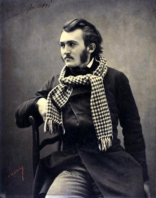 Portrait de Gustave Doré
