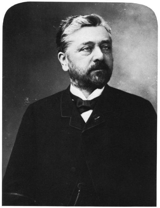 Portrait de Gustave Eiffel par Nadar