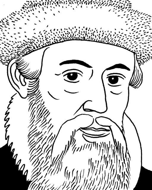 Portrait de Gutenberg