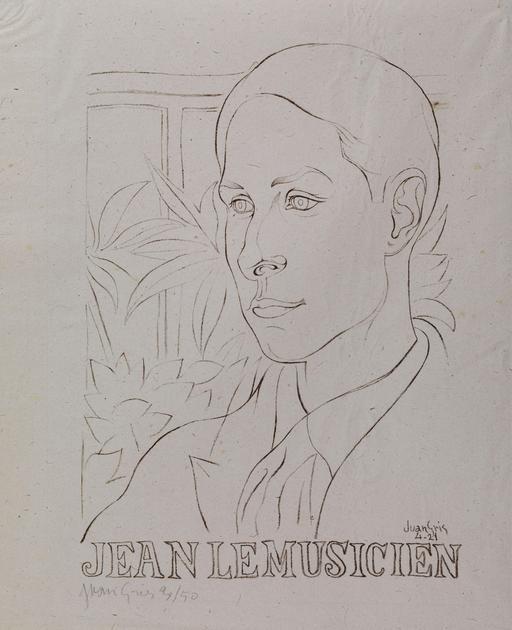 Portrait de Jean le Musicien