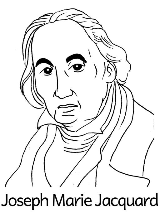 Portrait de Joseph Marie Jacquard
