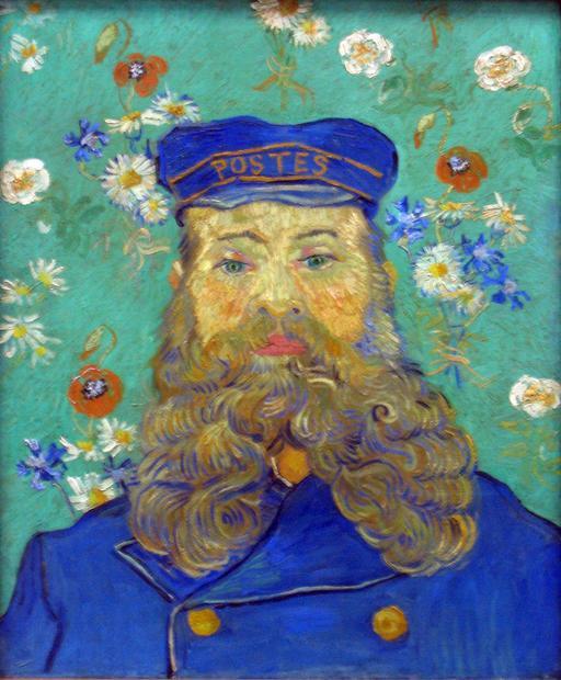 Portrait de Joseph Roulin en 1889