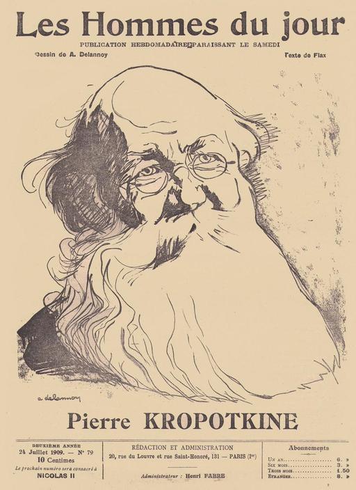 Portrait de Pierre Kropotkine