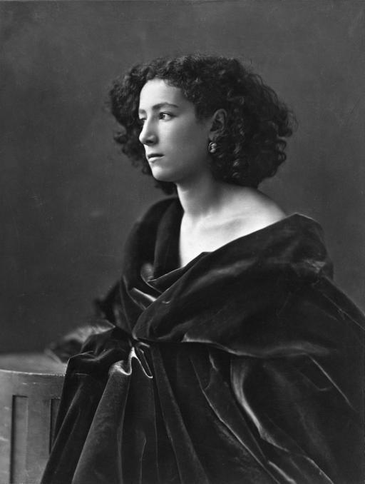 Portrait de Sarah Bernhardt par Nadar en 1864