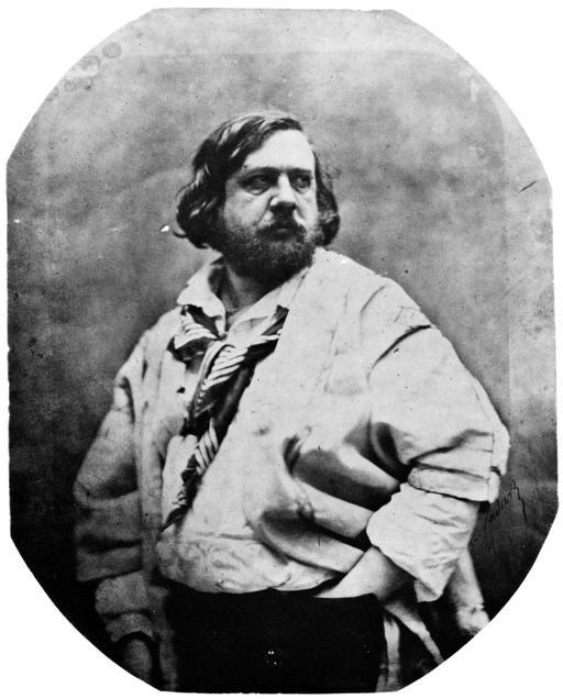 Portrait de Théophile Gautier en 1856 par Nadar