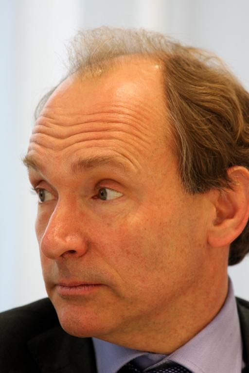 Portrait de Tim Berners-Lee en 2010