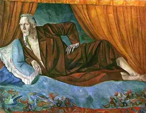 Portrait du chanteur russe Féodor Chaliapine