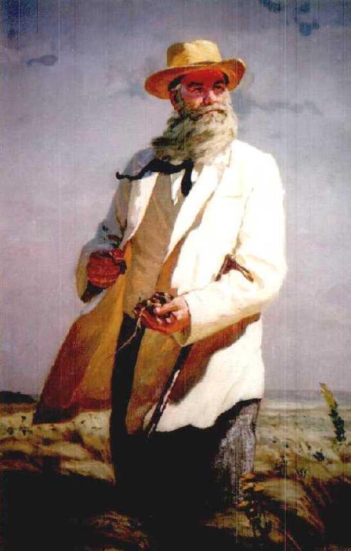 Portrait du pédologue Dokutschajew