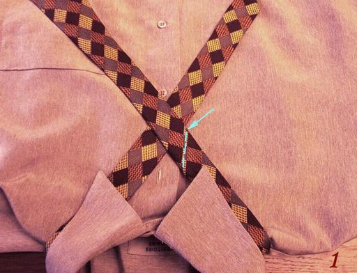 Pour faire un noeud de cravate - 1