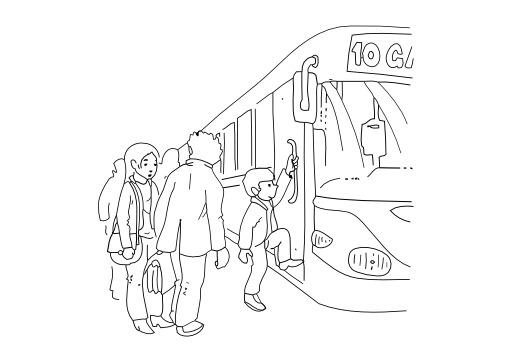 Prendre le bus